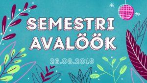 Semestri Avalöök 2019